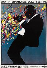 Waldemar Swierzy (1931 - 2013) Jazz Jamboree, 1988