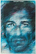 Waldemar Swierzy (1931 - 2013) Leonard Cohen, 1985