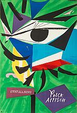 Henryk Tomaszewski (1914 - 2005) Utställnig Polsk affisch, 1956