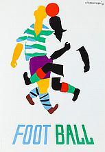 Henryk Tomaszewski (1914 - 2005) Football, 1948/2012