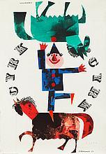 Jerzy Srokowski (1910 - 1975) Circus, 1963
