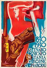 Tadeusz Gronowski, Feliks Szczesny Kowarski  1830 - 1930 Hundredth Anniversary of the Armed Nation, 1930