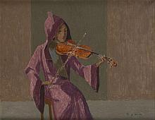 Benn Bencion Rabinowicz (1905 - 1989) Violinist