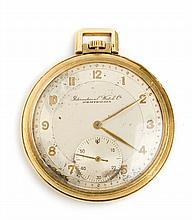 A pocket watch, 19th/20th Century,  Schaffhausen