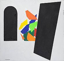 Joseph Kapelyan  (b. 1936) 'Window and door''