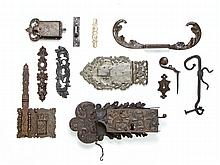 The collection of lock, 17th/18th Century,