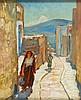 Abraham Neumann (1873 - 1942) Street in Jaffa, Abraham Neumann, PLN10,000