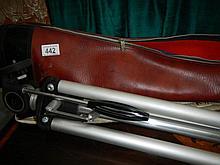A camera Dia Tripod M-3 in case