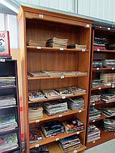 A pine book case
