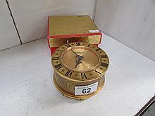 An Imhof Swiss clock in box