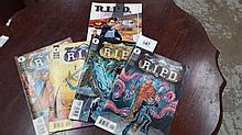 R.I.P.D 1-4 and R.I.P.D graphic novel