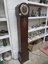 An Art Deco Grandmother clock