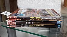 7 Marvel New X-Men graphic novels