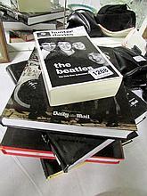 A quantity of Beatles books