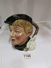 A Royal Doulton Dick Whittington character jug,(made 1953-1960)