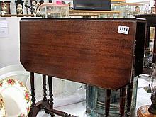 A mahogany Sutherland table
