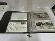 2 albums of postcards