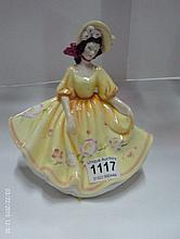 A Royal Doulton figurine, HN2206, Sunday Best