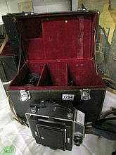 A Topcon Horseman Press format camera, case etc