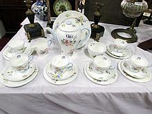 A 22 piece Shelley tea set