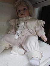 A limited edition Leonardo collector's doll