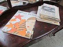 A quantity of early magazines