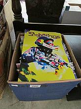 A quantity of gliding and aerosports magazines, 1970's to 1990's