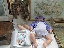 3 Knightsbridge collection dolls