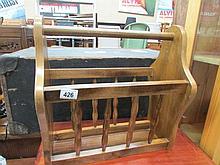 A magazine rack