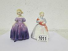 2 Royal Doulton figurines, HN2142 'Rag doll' and HN1370 'Marie'