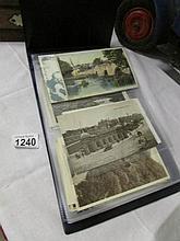 An album of Derbyshire postcards