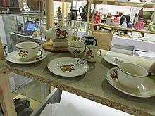 A child's tea set stamped Corona etc