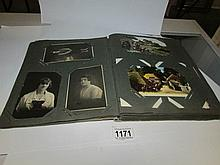 4 albums of postcards