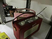 2 Vintage Roberts transistor radios