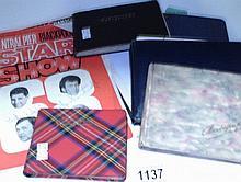 5 autograph books including Kay Cavendish, Ray Ellington, Shirley Bass