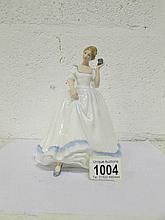 A Royal Doulton figurine, HN2234, 'Paula'