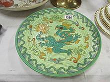 A Charlotte Rhead Crown Ducal wall plate