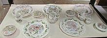 A quantity of Royal Doulton Brambley edge including plates, trinket po