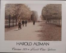 Harold Altman Signed Afternoon Shadows Poster Litho