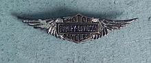 ANTIQUE HARLEY DAVIDSON MOTORCYCLE WINGS