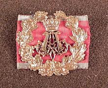 ROYAL BAVARIAN HONOR BADGE PRINCE ALFONS 1862-1933