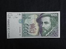 Spain Paper Currency 1000 Pestas -Uncirculated