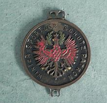 GERMAN IMPERIAL WINTER SPORT SHOOTING MEDAL W/EAGLE
