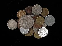 Lot of 25 Old Euro. Coins-CYP,BEL,FR,GB,ITA,SWE,GRC,AUT