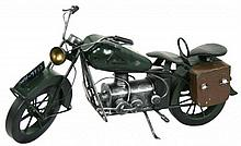 Vintage Metal Motorcycle
