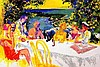 Wine Alfresco Signed Leroy Neiman Limited Ed Art Print, Leroy Neimann, $1,600