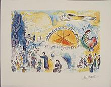 Marc Chagall : Four Seasons Art Print