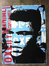 Peter Mars Orig Mixed Media Art Muhammad Ali King Clay