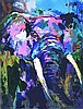 Portrait of the Elephant Signed Neiman LE Art Print, Leroy Neimann, $4,000