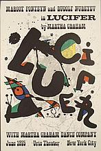Joan Miro : Lucifer Abstract Devil Art Print
